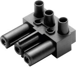 Connecteur d'alimentation Adels-Contact 165063 femelle, coudé Nbr total de pôles: 2 + PE 16 A noir 1 pc(s)