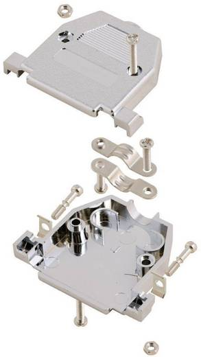 D-SUB Gehäuse Polzahl: 25 Kunststoff, metallisiert 180 ° Silber MH Connectors MHCCOV25-SC-MP 1 St.