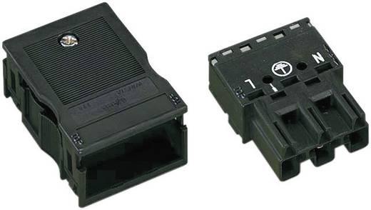 Netz-Steckverbinder Serie (Netzsteckverbinder) WINSTA MIDI Stecker, gerade Gesamtpolzahl: 2 + PE 25 A Schwarz WAGO 1 St.