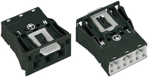 Netz-Steckverbinder WINSTA MIDI Serie (Netzsteckverbinder) WINSTA MIDI Stecker, gerade Gesamtpolzahl: 2 + PE 25 A Schwar