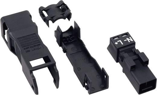 Netz-Steckverbinder Serie (Netzsteckverbinder) WINSTA MINI Stecker, gerade Gesamtpolzahl: 2 16 A Schwarz WAGO 1 St.