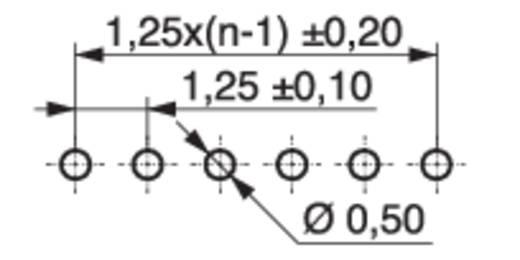 Stiftleiste (Standard) STL MPE Garry 426-2-014-0-T-KS0 Rastermaß: 1.25 mm 496 St.