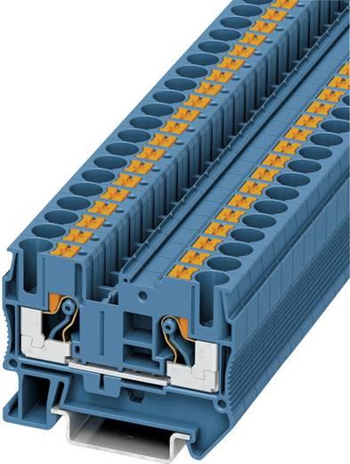 Push-In Durchgangsklemmen PT PT 6 BU Phoenix Contact Blau Inhalt: 1 St.