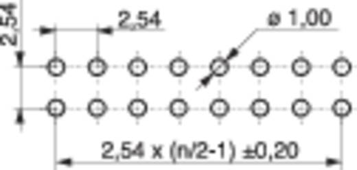 Buchsenleiste (Standard) Anzahl Reihen: 2 Polzahl je Reihe: 13 MPE Garry 095-2-026-0-NFX-BS0 120 St.