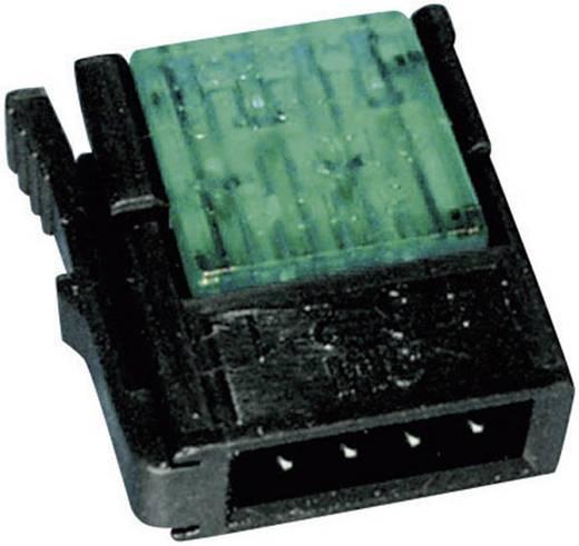 Schwachstromverbinder flexibel: 0.14-0.25 mm² starr: 0.14-0.25 mm² Polzahl: 4 3M Miniclamp 1 St. Rot