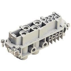 Súprava konektorovej zásuvky Harting Han® Com 09 38 012 2701, 4 + 8 + PE, skrutkovací, 1 ks