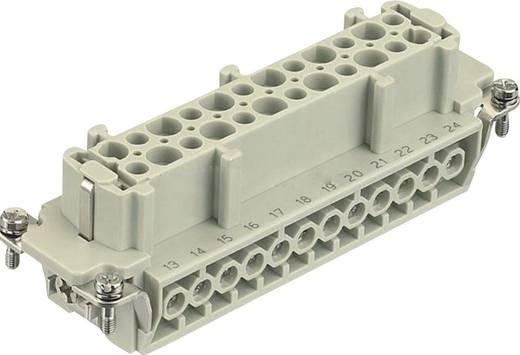 Buchseneinsatz Han® E 09 33 024 2711 Harting 24 + PE Schrauben 1 St.