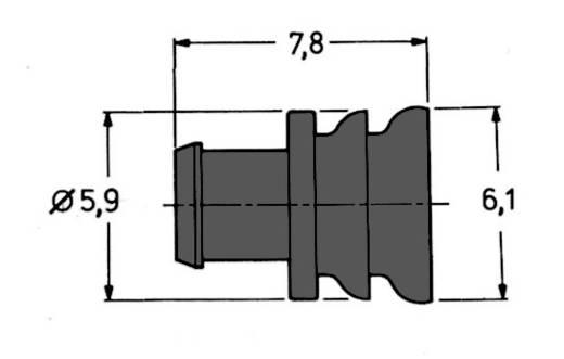 Kontakte, Dichtungen, Blindstopfen und Werkzeuge für SUPERSEAL 2 - und 3 - polig 282081-1 TE Connectivity Inhalt: 1 St.