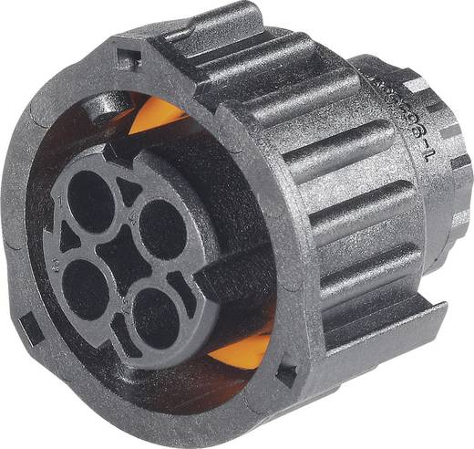 AMP Rundsteckverbinder nach DIN 72585 Pole: 4 30 A 1-968968-1 TE Connectivity 1 St.