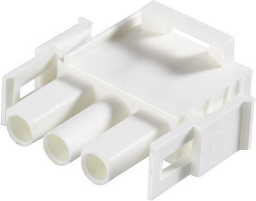 TE Connectivity 350735-4 Stiftgehäuse-Kabel Universal-MATE-N-LOK Polzahl Gesamt 12 Rastermaß: 6.35 mm 1 St.