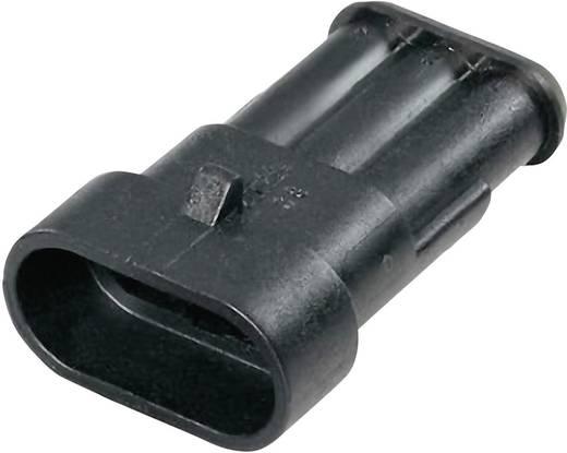 Stiftgehäuse-Kabel AMP-Superseal 1.5mm Series Polzahl Gesamt 3 TE Connectivity 282105-1 Rastermaß: 6 mm 1 St.
