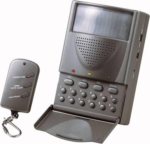 Drahtlose Mini-Alarmanlage mit Telefonwahlgerät