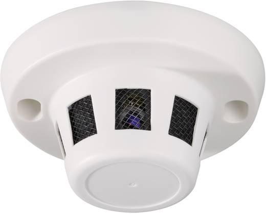 Getarnte Überwachungskamera im Rauchmeldergehäuse 400 TVL 512 x 582 Pixel 3,6 mm 751378