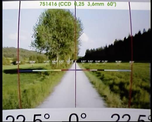 Getarnte Überwachungskamera im PIR-Gehäuse 400 TVL 512 x 582 Pixel 3,7 mm 751416