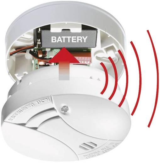 funk rauchwarnmelder vernetzbar gev 004160 batteriebetrieben. Black Bedroom Furniture Sets. Home Design Ideas