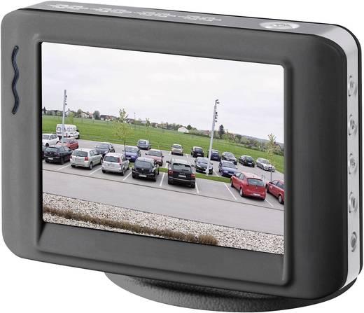 LCD-Überwachungsmonitor 8.9 cm 3.5 Zoll Basetech 751805 480 x 234 Pixel Schwarz, Silber