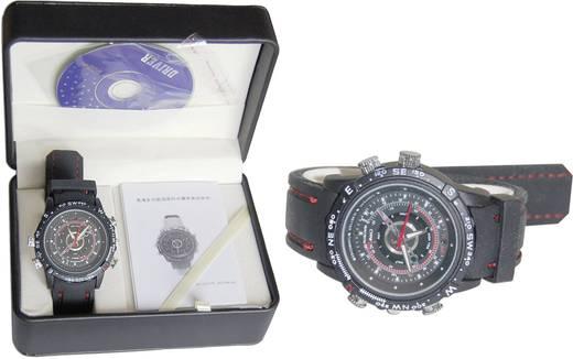 Getarnte Überwachungskamera in der Armbanduhr 4 GB 640 x 480 Pixel 3,7 mm BS