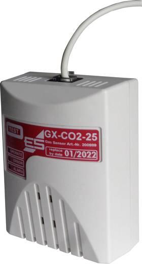 Gas-Sensor Schabus 200989-C2 detektiert Kohlendioxid