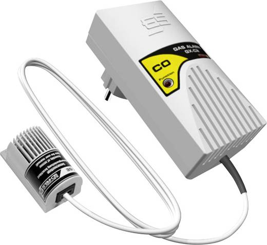 Gasmelder Schabus 300225 netzbetrieben detektiert Kohlenmonoxid