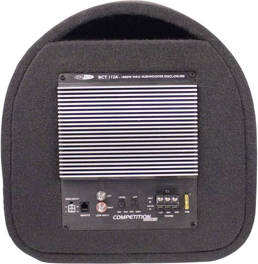 Auto-Subwoofer-Tube aktiv 1000 W Caliber Audio Technology BCT112A
