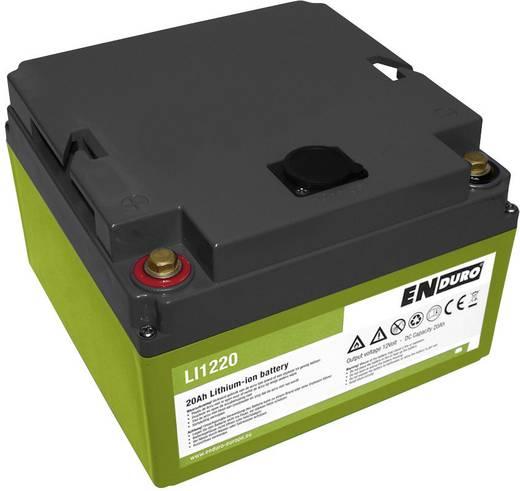 Versorgungsbatterie Lithium Power 12V 20Ah LI1220 enduro