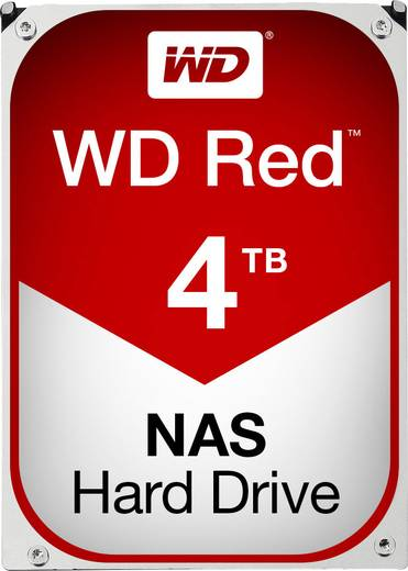 Interne Festplatte 8.9 cm (3.5 Zoll) 4 TB Western Digital Red™ Bulk WD40EFRX SATA III