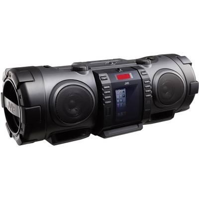 UKW Ghettoblaster JVC RV-NB75BE AUX, Apple-Dock, Bluetooth®, CD, UKW, USB Schwarz Preisvergleich