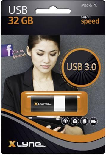 USB-Stick 32 GB Xlyne Wave Schwarz/Weiß 7932000 USB 3.0
