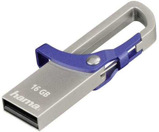 USB-Stick 16 GB Hama FlashPen Blau 123920 USB 2.0