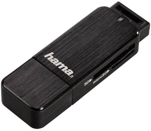 Externer Speicherkartenleser USB 3.0 Hama 123901 Schwarz