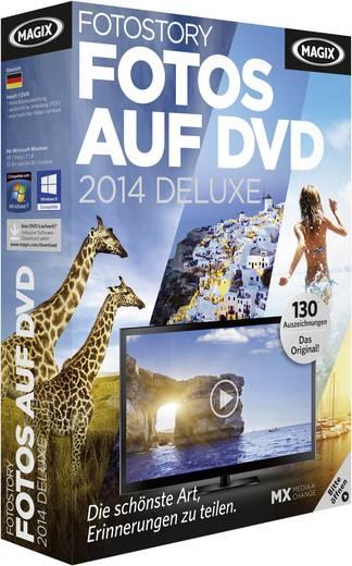 MAGIX Fotos auf DVD 2014 deluxe