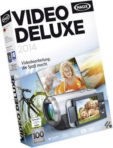 Magix Video deluxe 2014 Vollversion, 1 Lizenz Windows Videobearbeitung