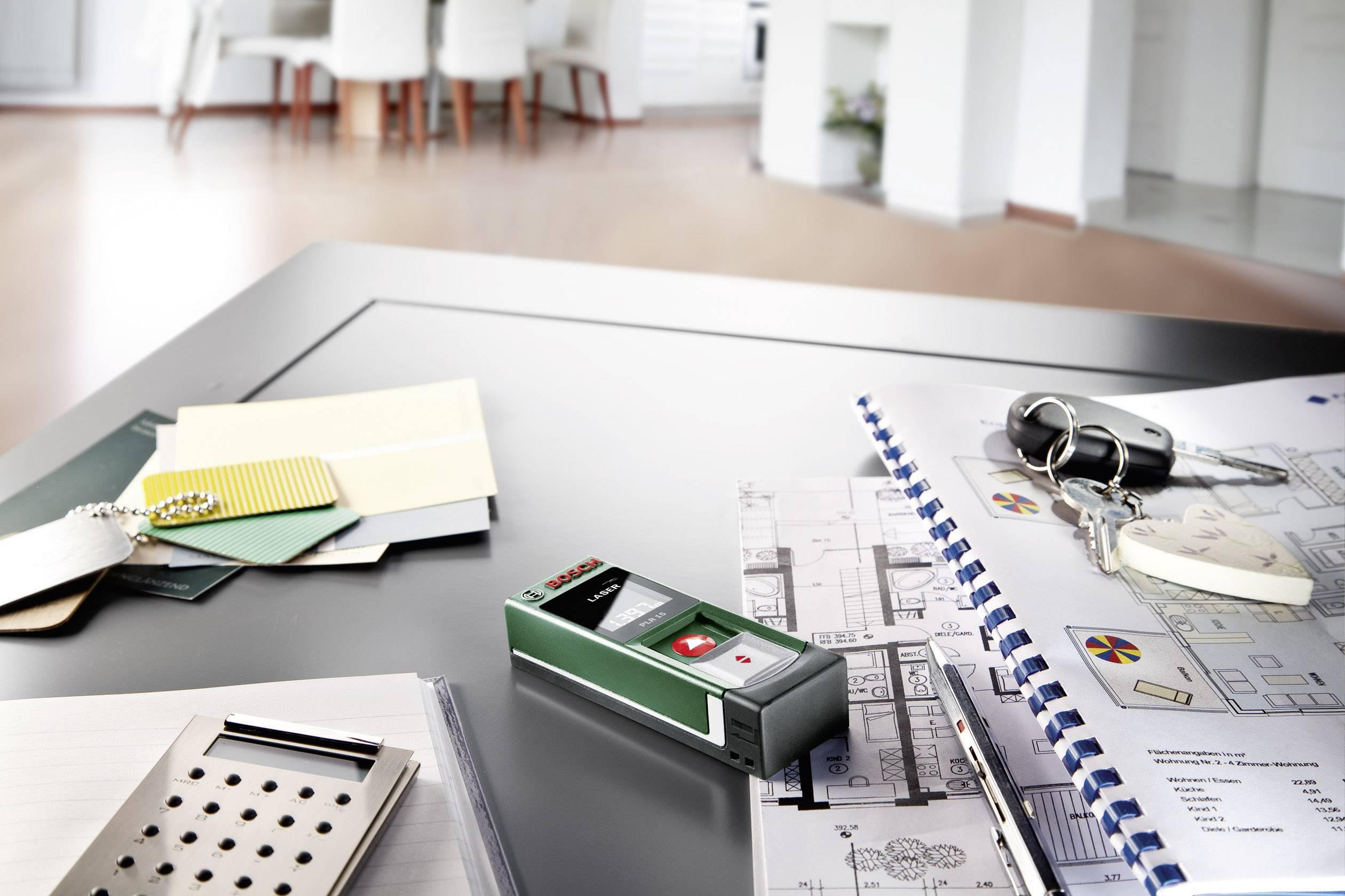 Bosch home and garden plr laser entfernungsmesser inkl