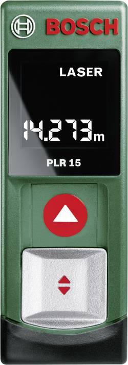 Laserový měřič vzdálenosti Bosch Home and Garden PLR 15, rozsah měření (max.) 15 m
