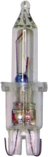 Konstsmide Ersatzbirne, 5er-Blister,klar,12V,1.14W,transparente Steckfassung