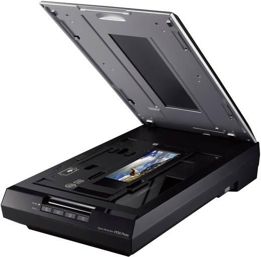 Flachbettscanner A4 Epson Perfection V550 Photo 6400 x 9600 dpi USB Dokumente, Fotos, Dias, Negative