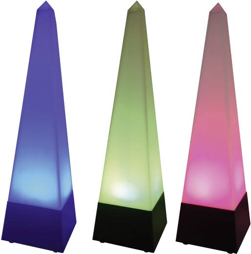 LED Party-Lichteffekt LED-Pyramide Multi-Color Anzahl Leuchtmittel: 3