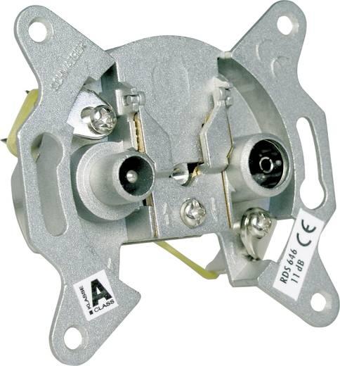 Antennendose Schwaiger RDS64611 Unterputz Durchgangsdose