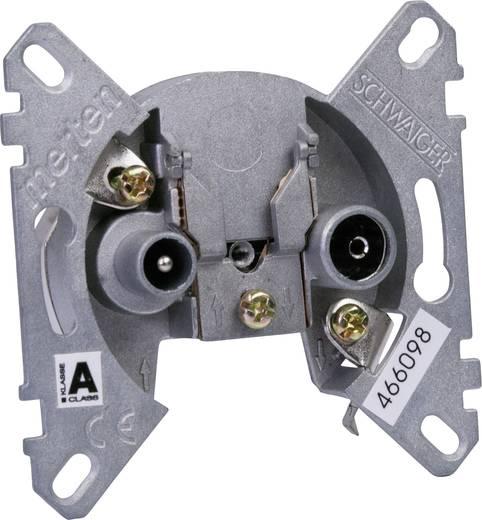Antennendose Schwaiger RDS64615 Unterputz Durchgangsdose