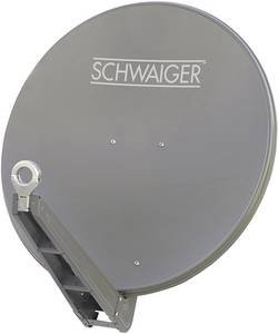 Antenne SAT 75 cm Schwaiger SPI075 Matériau du réflecteur: aluminium anthracite-gris