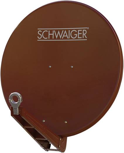 SAT Antenne 75 cm Schwaiger SPI075 Reflektormaterial: Aluminium Rot (metallic)