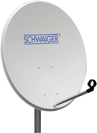 SAT Antenne 80 cm Schwaiger SPI9920 Reflektormaterial: Stahl Hellgrau