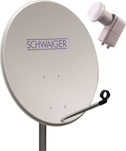 SAT-Anlage ohne Receiver 2 Schwaiger SPI993011 80 cm