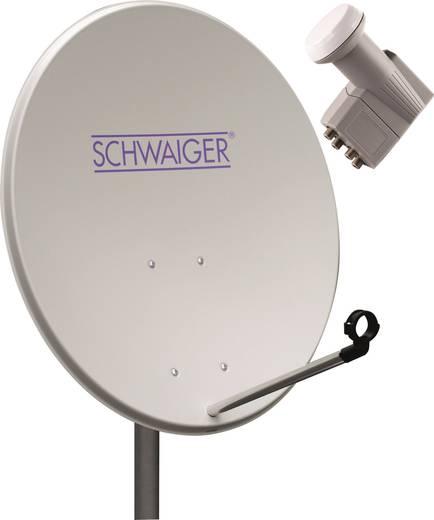 SAT-Anlage ohne Receiver 4 Schwaiger SPI994011 80 cm