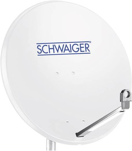 SAT Antenne 75 cm Schwaiger SPI998.0 Reflektormaterial: Aluminium Hellgrau