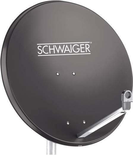 SAT Antenne 75 cm Schwaiger SPI998.1 Reflektormaterial: Aluminium Anthrazit
