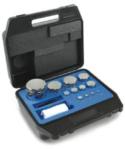 Kern 312-044 E2 Gewichtsatz Kompaktform, 1 g - 200 g Edelstahl, im Kunststoffkoffer