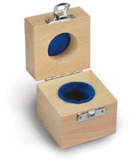 Kern Holzetui passend für Einzelgewicht 1 x 10 g E1 + E2 + F1, gepolstert
