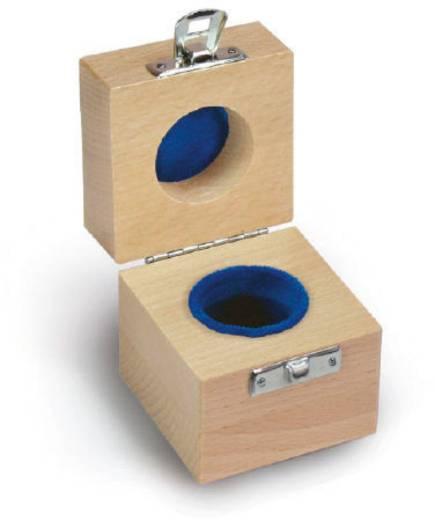 Kern Holzetui passend für Einzelgewicht 1 x 500 g E1 + E2 + F1, gepolstert