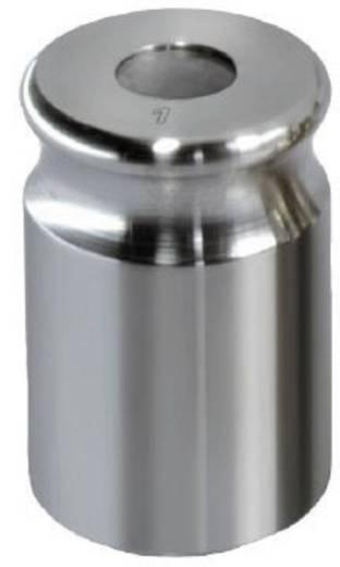 Kern NON-OIML Gewicht 5 kg, justiert nach FGKl. F1 Kompaktform mit Griffmulde, Edelstahl feingedreht